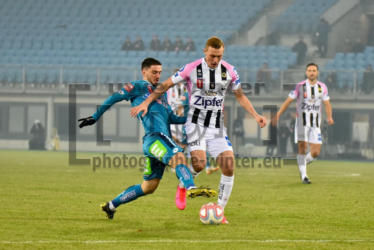 UNIQA ÖFB-Cup Lask gegen Sturm Graz