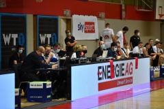 Basketball Superliga 2020/21, Grunddurchgang 6.Runde Flyers Wels vs. Swans Gmunden