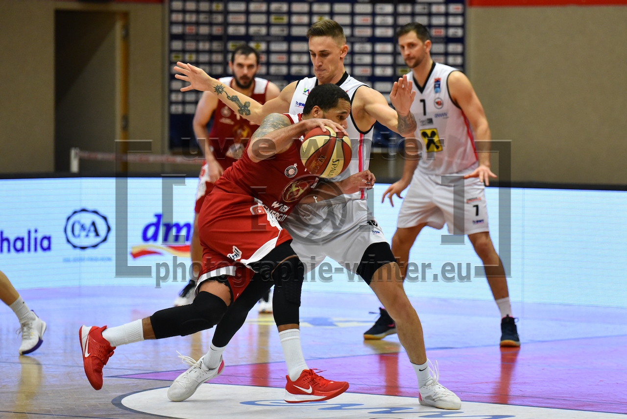 Basketball Cup 2020/21, Flyers Wels vs. BC Vienna